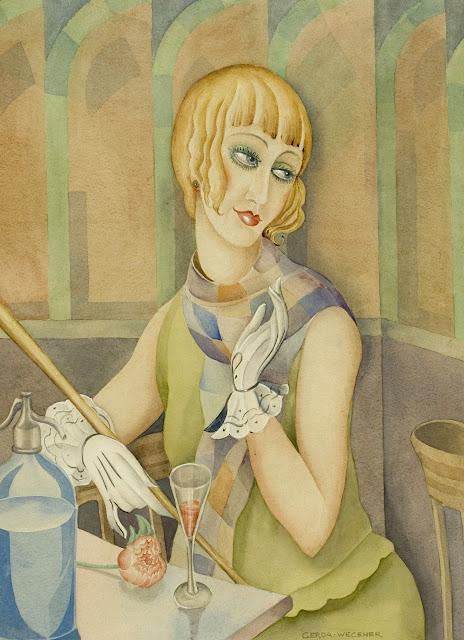 Lili Elbe by Gerda Wegener (c. 1928)