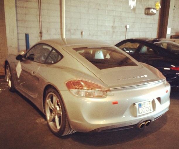 2012 Porsche Cayman Camshaft: Car Modern: بورش كايمن 2013