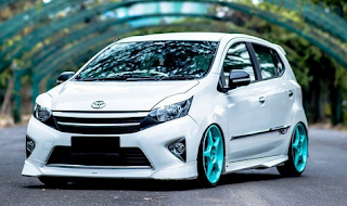 gambar modifikasi Toyota Agya TRD Sportivo