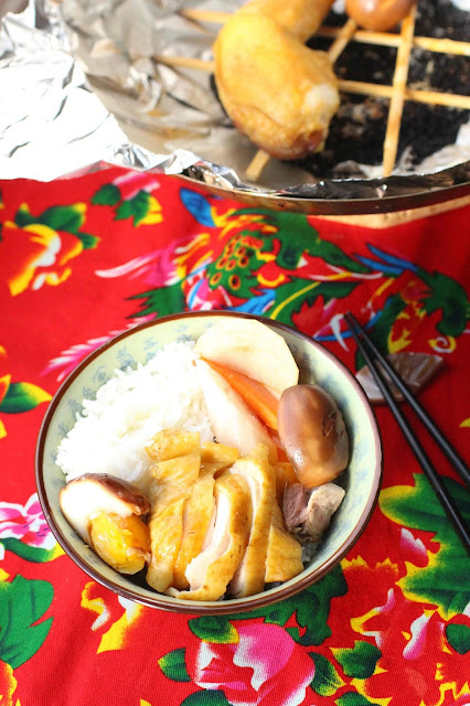 poulet fume recette chinoise
