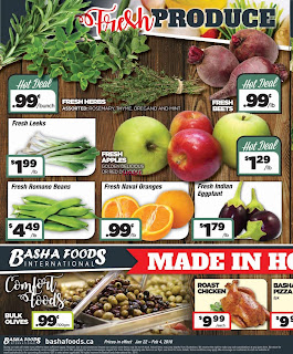 Basha Foods International Weekly Flyer January 22 – February 4, 2018