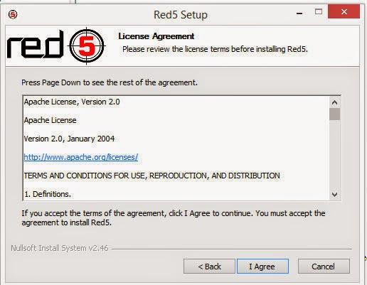Red5 server setup