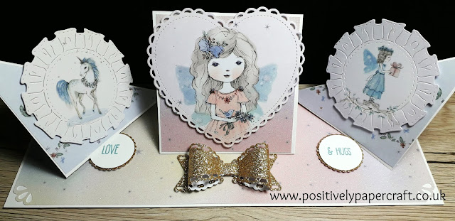 #positivelypapercraft, #handmade, #Tripletwistedeaselcard,