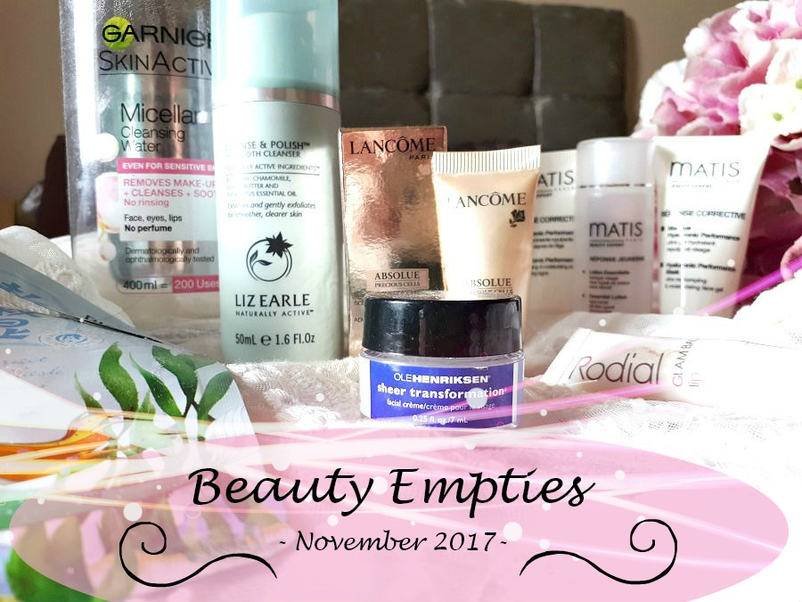 Beauty, Empties, The Style Guide Blog