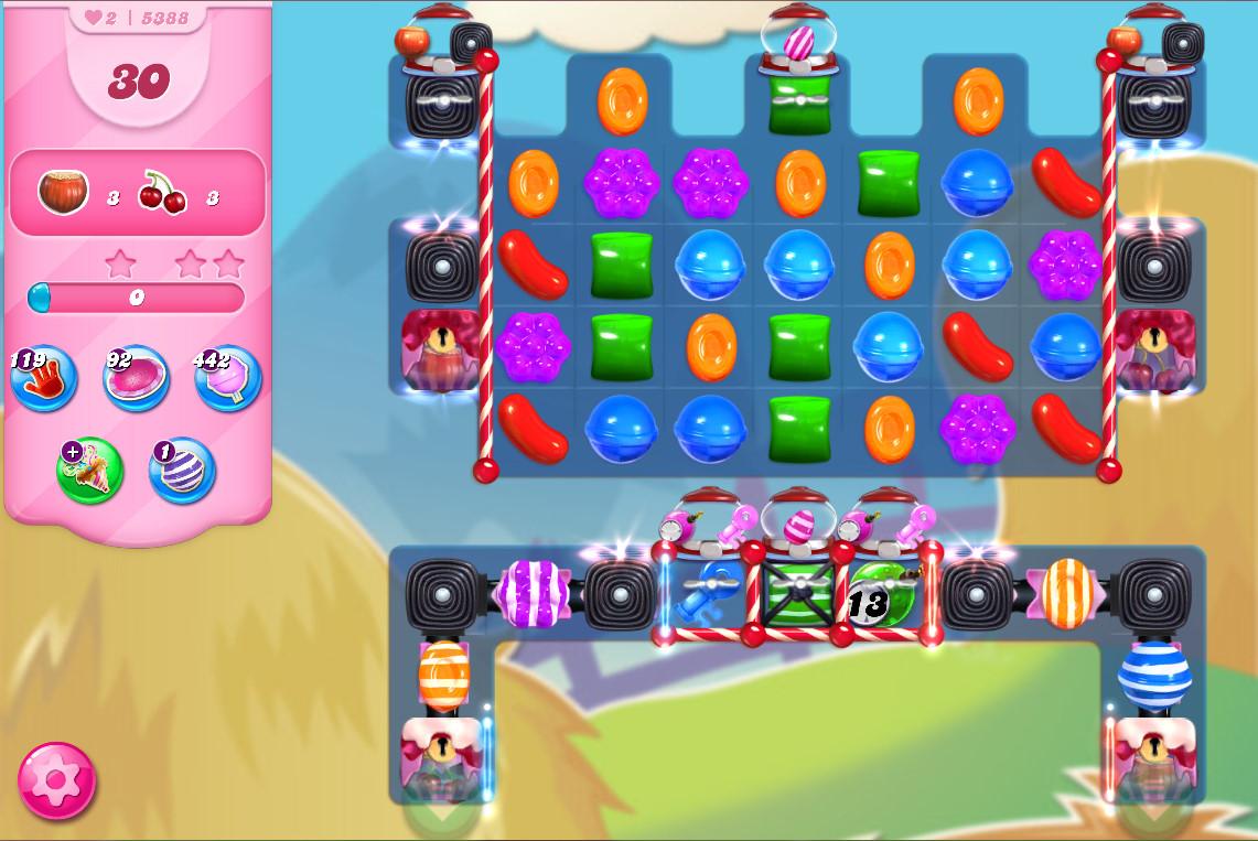 Candy Crush Saga level 5388