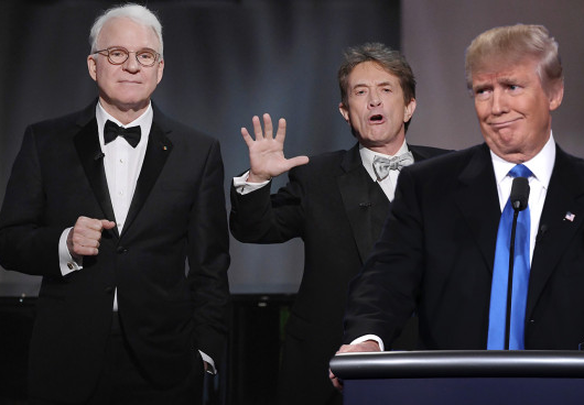 Why Martin Short and Steve Martin won't joke about Trump