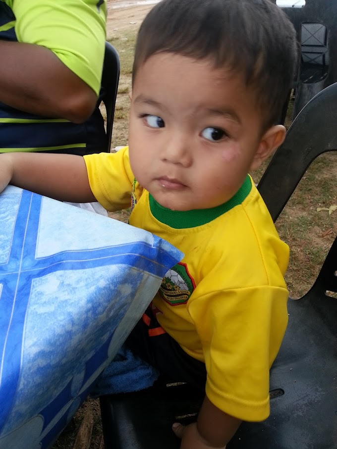 WORDLESS WEDNESDAY #1 :- SAYANGKU BABY ARIF
