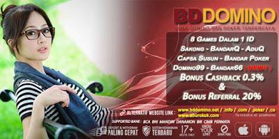 Agen Judi Bandar66 Online Terpercaya BDdomino.info