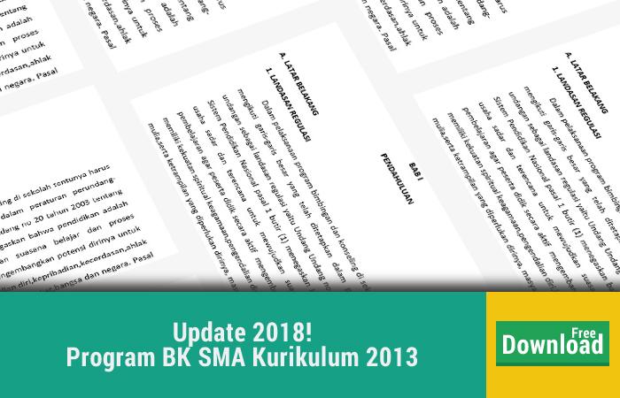 Program BK SMA Kurikulum 2013