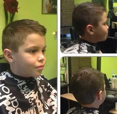 model potongan rambut anak laki laki standar