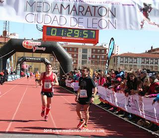 globos de la Media Maratón de León
