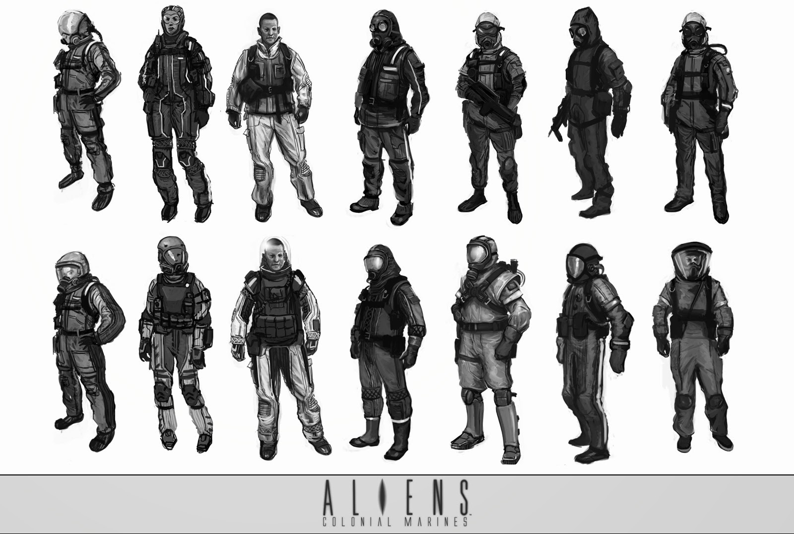 1600 Sf To Sm More Aliens Colonial Marines Concept Art