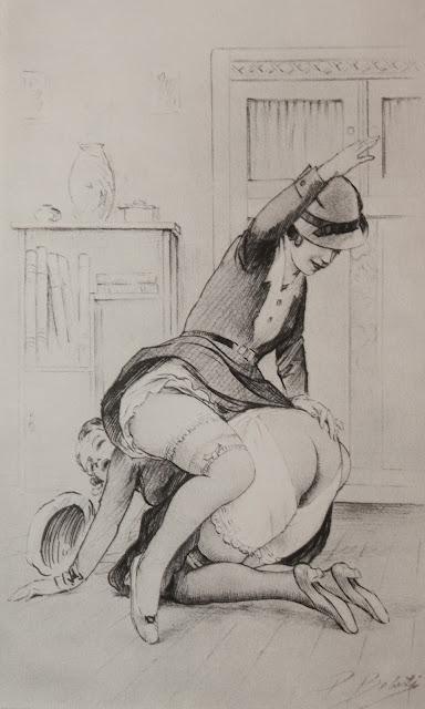 Erotic sexy spanking 5