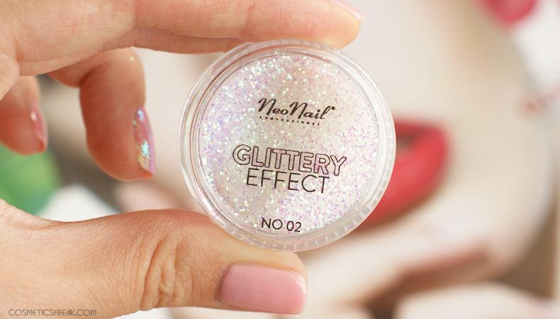 neonail glittery effect no 2