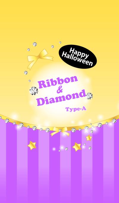 Ribbon & Diamond Type-A Halloween