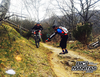 CURSO DE CONDUCCION MTB BICIMANITAS