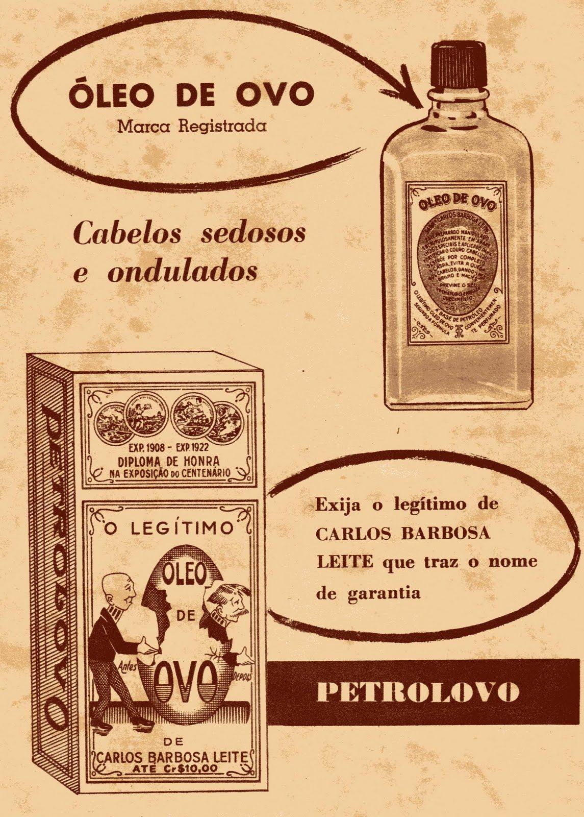 Campanha do Petrolovo a base de Óleo de Ovo para cabelos sedosos e ondulados