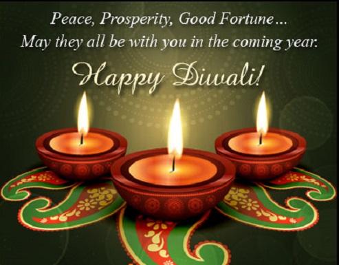 Choti Diwali Greeting Cards Quotes
