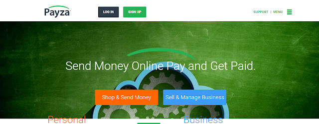 PayZa send and receive money online in a easy way