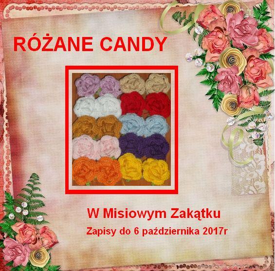 Różane Candy w Misiowym Zakątku