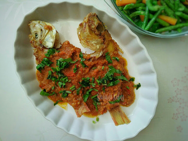 resepi ikan talapia goreng pedas