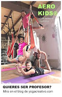 yoga aereo kids