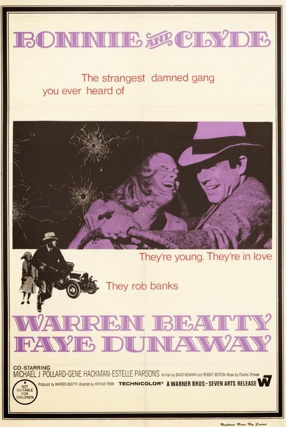 Bonnie And Clyde Movie Poster Arthur Penn Quo...