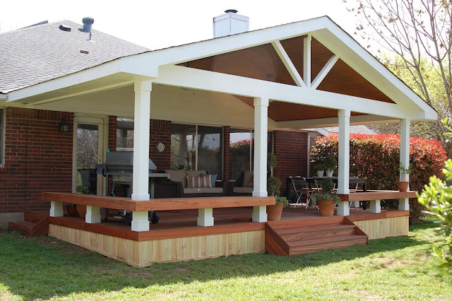 Patio Ideas on a Budget with Attractive Decoration