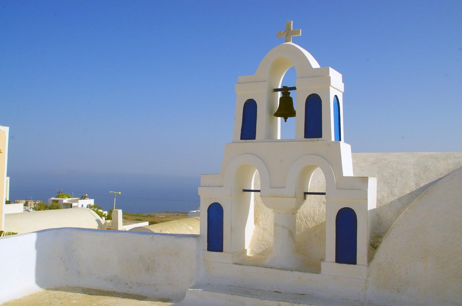 Church Bells Oia Santorini