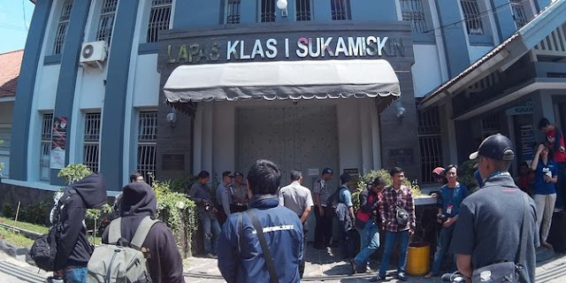 Sel 'kamar mewah' Lapas Sukamiskin dipatok Rp 200-500 juta