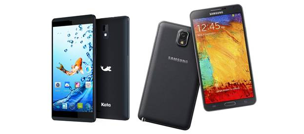 Kata M2 vs Samsung Galaxy Note 3