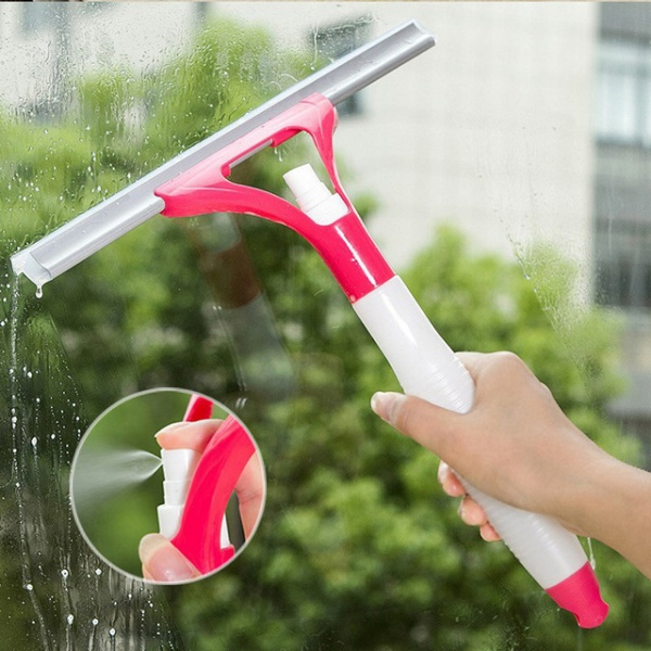 Wiper Cleaner Washing Scraper Home Bathroom Car Window Cleaning Tool