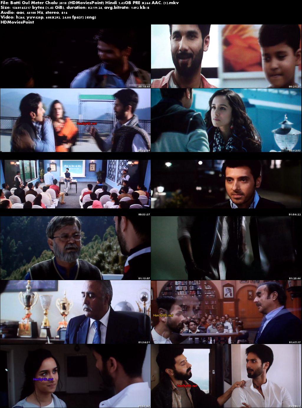 Screen Shots Batti Gul Meter Chalu 2018 Full Movie Download Hindi 720p
