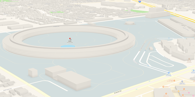 Apple has now enhanced the Maps app with updated 3D models and detailed maps of the Apple Park campus.
