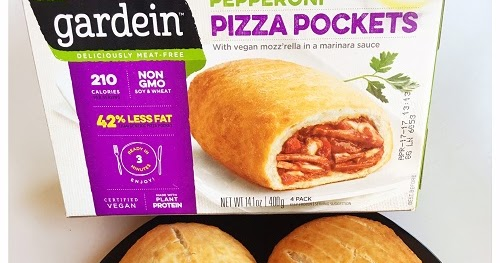 The Spooky Vegan Food Review Gardein Pizza Pockets