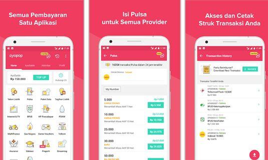 Ayopop Aplikasi Android Jualan Pulsa Terbaik dan Termurah