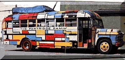 Becky's Mondrian/Partridge Family Afghan » Curbly | DIY ... |Partridge Family Bus Pattern
