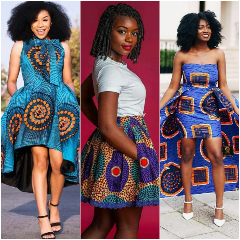 Top 30 Casual African Print Skirts And Dresses Inspirations