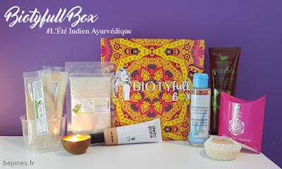 BIOTYfull Box de Septembre : L'Ayurvédique