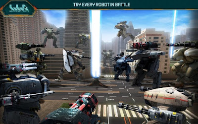 Walking War Robots Apk Mod (Mod Money) 4