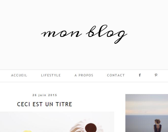Séparer votre barre de navigation en deux parties sur Blogger