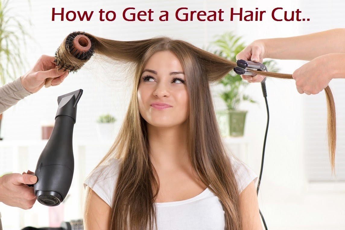 Tips For Getting A Great Hair Cut Men Women Go Beautilicious