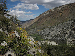 View to the north, Tyee Lakes Trail, Inyo National Forest, California