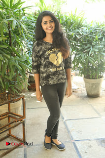 Actress Anupama Parameshwaran Pictures in Jeans at Premam Movie Interview  0225