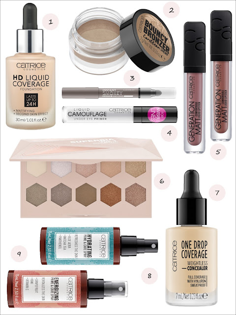 Catrice New Products Spring/Summer 2019 Wishlist