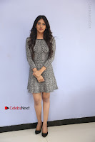 Actress Chandini Chowdary Pos in Short Dress at Howrah Bridge Movie Press Meet  0002.JPG