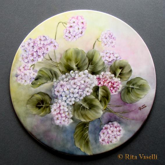 Rita vaselli watercolors la pazienza e 39 la virtu dei for Fiori dipinti a olio