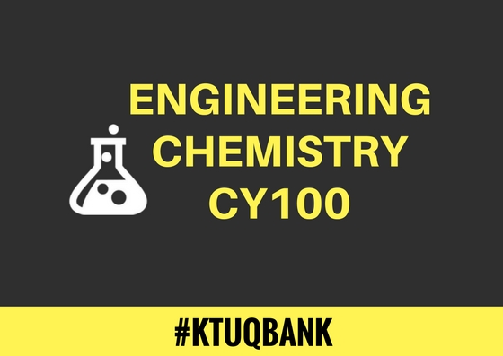 Engineering Chemistry | CY100 | Question Papers (2015 batch)