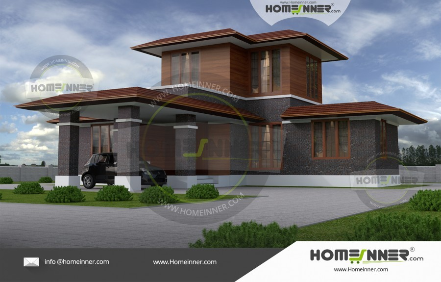 Single Floor House Front Elevation Design