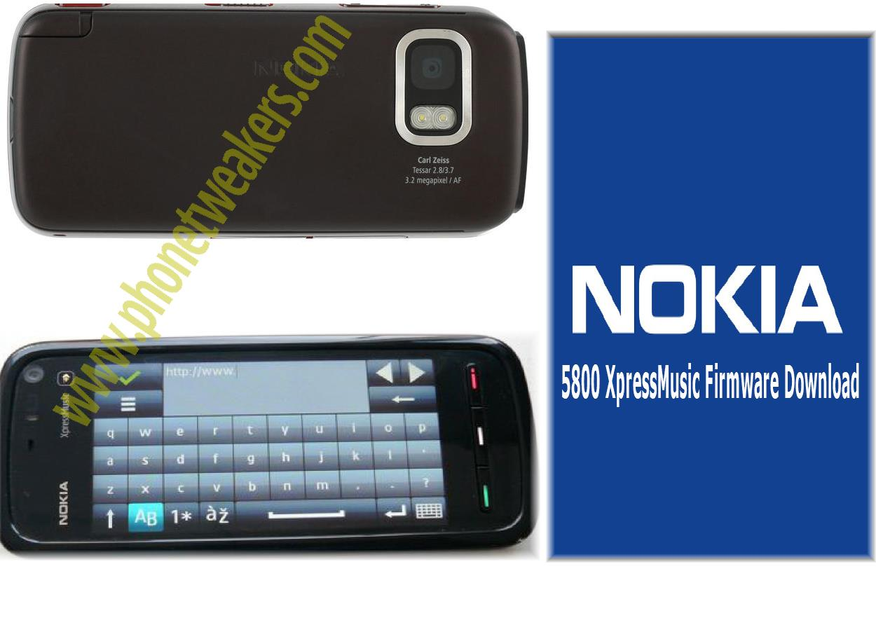 Nokia Releases Firmware Update for Nokia 5800 Xpress Music